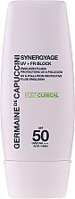 Kup PRZECENA! Przeciwsłoneczna emulsja do twarzy SPF 50 - Germaine de Capuccini Synergyage UV+FR Block Emulsion *