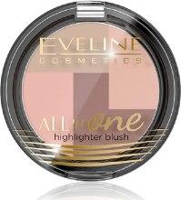 Kup Róż mozaika - Eveline Cosmetics All In One