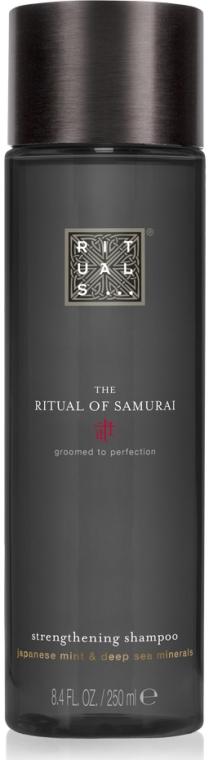 Wzmacniający szampon do włosów Japońska mięta i minerały z Morza Martwego - Rituals The Ritual Of Samurai Strengthening Shampoo  — фото N1