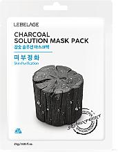 Kup Maseczka do twarzy w płachcie z węglem - Lebelage Charcoal Solution Mask