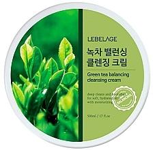 Kup Oczyszczający krem do mycia twarzy - Lebelage Green Tea Balancing Cleansing Cream