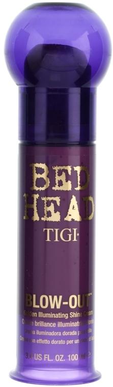 Brokatowy krem do stylizacji włosów - TIGI Bed Head Blow-Out Golden Illuminating Shine Cream — фото N1