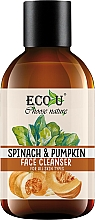 Kup Oczyszczający żel do mycia twarzy Szpinak i dynia - Eco U Pumpkins And Spinach Face Cleanser