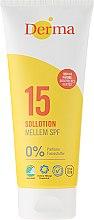 Kup Przeciwsłoneczny balsam do opalania SPF 15 - Derma Sun Lotion