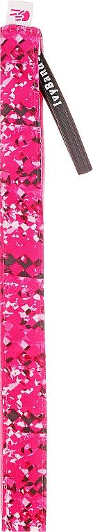 Opaska do włosów, różowa - Ivybands Pink S Passion Hair Band