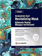 Kup Rewitalizująca maska w płachcie do twarzy - Leaders 7 Wonders Amazonian Acai Revitalizing Mask