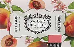 Kup Mydło roślinne w kostce Brzoskwinia - Panier des Sens Shea Butter Soap Vineyard Peach
