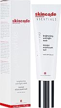 Kup Rozjaśniająca maska do twarzy na noc - Skincode Essentials Alpine White Brightening Overnight Mask