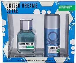 Kup Benetton United Dreams Go Far - Zestaw (edt 100 ml + deo 150 ml)
