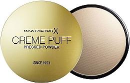 Kup PRZECENA! Puder w kompakcie (nowa wersja bez gąbki i folii) - Max Factor Creme Puff Pressed Powder *