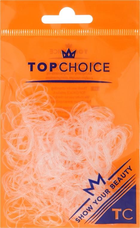 Gumki do włosów 22715, przezroczyste - Top Choice
