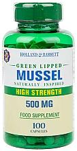 Kup Suplement diety w kapsułkach wzmacniający stawy i więzadła - Holland & Barrett Green Lipped Mussel 500mg