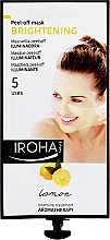 Kup Rozjaśniająca maska peel-off do twarzy z cytryną - Iroha Nature Brightening Mask Lemon