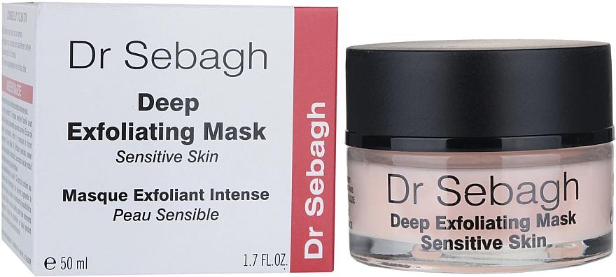 PRZECENA! Maska głęboko złuszczająca do skóry wrażliwej - Dr Sebagh Deep Exfoliating Mask * — фото N1