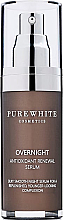 Kup PRZECENA! Serum do twarzy na noc z antyoksydantami - Pure White Cosmetics Overnight Antioxidant Renewal Serum *