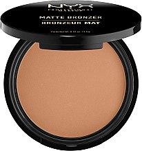 Kup Matujący puder brązujący - NYX Professional Makeup Matte Bronzer