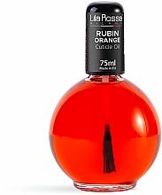Kup Olejek do skórek z pędzelkiem Rubin Orange - Lila Rossa Cuticle Oil