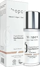 Kup Hipoalergiczny krem nawilżający do twarzy  - Yappco Hypoallergenic Moisturizer Face Cream
