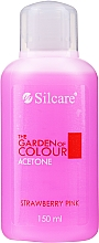 Kup Zmywacz do paznokci Truskawka - Silcare The Garden Of Colour Aceton Strawberry Pink