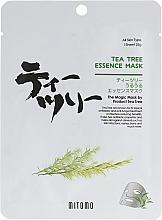 Kup Maseczka z olejkiem z drzewa herbacianego w płachcie - Mitomo Tea Tree Essence Mask