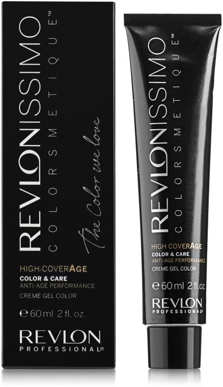Krem koloryzujący do włosów - Revlon Professional Revlonissimo Anti Age Technology High Coverage XL150