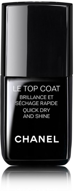 Lakier nawierzchniowy - Chanel Le Top Coat Nail Brilliance Et Quick Dry And Shine