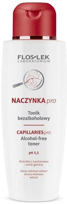 Tonik bezalkoholowy pH 5,5 - Floslek Dilated Capillaries Alcohol-Free Toner pH 5,5