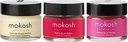 Kup Zestaw Dermalogica do twarzy - Mokosh Cosmetics Raspberry (cr/15ml + lip/balm/15ml + lip/scr/15ml)