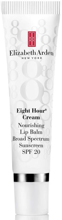 Balsam do ust - Elizabeth Arden Eight Hour Cream Nourishing Lip Balm Broad Spectrum Sunscreen SPF 20 — фото N1