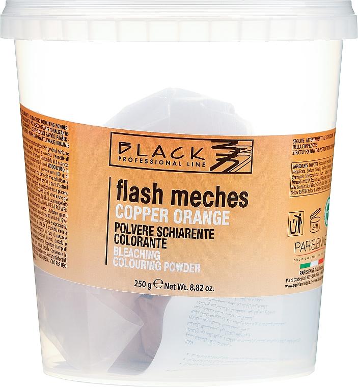 Proszek do rozjaśniania włosów - Black Professional Line Flash Meches Bleaching Colouring Powder — фото N1