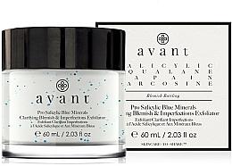 Kup Oczyszcający delikatny peeling do cery z niedoskonałościami - Avant Pro Salicylic Blue Minerals Clarifying Blemish & Imperfections Exfoliator