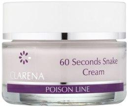 Kup Przeciwzmarszczkowy krem z jadem węża - Clarena Poison Line 60 Seconds Snake Cream