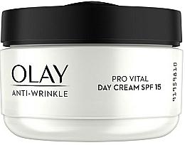 Kup Przeciwzmarszczkowy krem do twarzy na dzień SPF 15 - Olay Anti-Wrinkle Pro Vital Day Cream