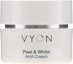 Kup PRZECENA! Naprawczy krem przeciwzmarszczkowy do twarzy 70+ - Vyon Peel and White AHA Cream*