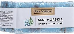 Kup Naturalne mydło w kostce Algi morskie - Stara Mydlarnia Body Mania Algae Handmade Vegan Natural Soap