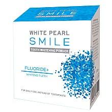 Kup Wybielający proszek do zębów z mentolem - VitalCare White Pearl Smile Tooth Whitening Powder Fluor+