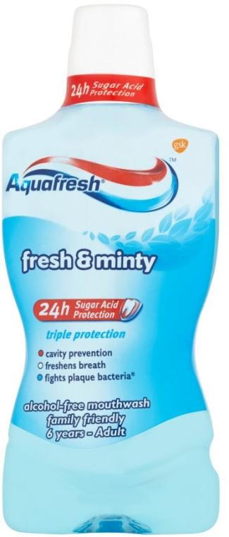 Płyn do płukania jamy ustnej Ekstraświeżość - Aquafresh Extra Fresh & Minty — фото N1