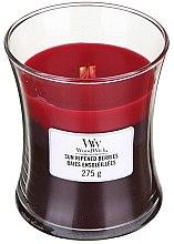 Kup Świeca zapachowa w szkle - WoodWick Hourglass Trilogy Candle Sun Ripened Berries