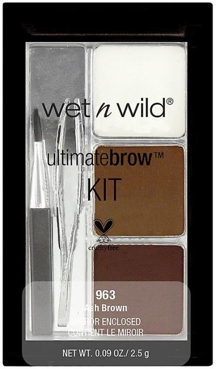 Zestaw do makijażu brwi - Wet N Wild Ultimate Brow Kit