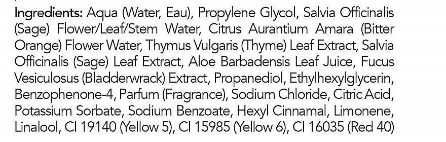 Spray do twarzy z aloesem, szałwią i kwiatem pomarańczy - Mario Badescu Facial Spray with Aloe Sage & Orange Blossom — фото N3