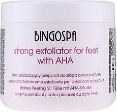 Kup Silnie złuszczający peeling do stóp - BingoSpa Strong Exfoliant for Feet with AHA