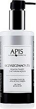 Kup Oczyszczający żel do mycia twarzy z aktywnym węglem - APIS Professional Cleansing Gel
