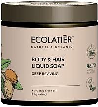 Kup Głęboko regenerujące mydło do ciała i włosów - Ecolatier Organic Aragan Body & Hair Liquid Soap