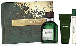 Kup Adolfo Dominguez Agua Fresca Vetiver - Zestaw (edt 120 ml + ash/balm 75 ml + edt 20 ml)
