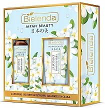 Kup Zestaw - Bielenda Japan Beauty Jasmine Extract And Tsubaki Oil (b/oil/150ml + body/cr/200ml)