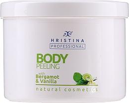 Kup Peeling do ciała z bergamotką i wanilią - Hristina Professional 100% Natural Bergamot&Vanilla Body Peeling