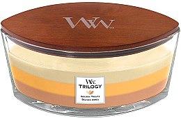 Kup Świeca zapachowa w szkle - WoodWick Golden Treats Ellipse Candle