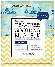 Kup Kojąca maseczka w płachcie do twarzy z ekstraktem z drzewa herbacianego - Huangjisoo Tea-Tree Soothing Mask