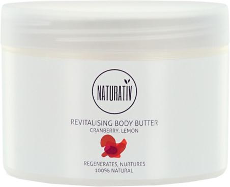 Rewitalizujące masło do ciała Żurawina i cytryna - Naturativ Revitalising Body Butter — фото N2