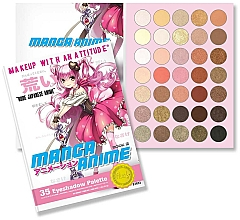 Kup Paleta cieni do powiek - Rude Manga Anime Eyeshadow Palette